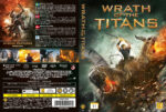 Wrath of the Titans (2012) R2 Nordic Retail DVD Cover + Custom Label