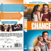 The Change-Up (2011) R2 Swedish Retail DVD Cover + Custom Label