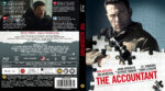 The Accountant (2016) R2 Nordic Blu-Ray Custom Cover + label