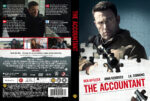 The Accountant (2016) R2 Nordic Custom DVD Cover + label