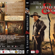 Hatfields & McCoys (2012) R2 Nordic Retail DVD Cover + Custom Label