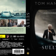 Sully (2016) R2 Swedish Custom DVD Cover + label