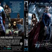 Batman v Superman - Dawn Of Justice (2016) R1 CUSTOM Cover & Label