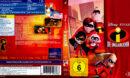 Die Unglaublichen (2004) R2 German Blu-Ray Cover