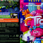 Trolls (2016) R2 German Blu-Ray Covers