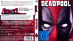 Deadpool (2016) R2 German Blu-Ray Cover