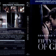 Fifty Shades of Grey (2015) R2 German Blu-Ray Covers