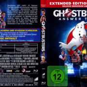 Ghostbusters (2016) R2 German Blu-Ray Cover