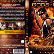 Gods of Egypt (2016) R2 German Blu-Ray Covers