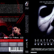 Halloween: Resurrection (2002) R2 German Blu-Ray Covers