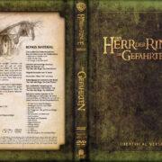 Herr der Ringe - Die Gefährten (2001) R2 GERMAN Custom DVD Cover