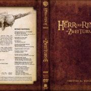Herr der Ringe – Die zwei Türme (2002) R2 GERMAN Custom DVD Cover