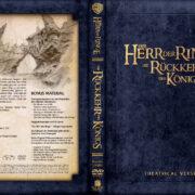Herr der Ringe - Die Rückkehr des Königs (2003) R2 GERMAN Custom DVD Cover