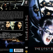 The Lost Boys (1987) R2 GERMAN Custom DVD Cover