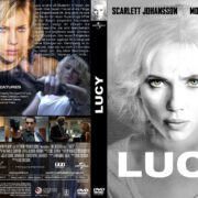 Lucy (2014) R2 GERMAN Custom DVD Cover