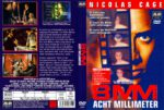 8MM – Acht Millimeter (1999) R2 GERMAN DVD Cover