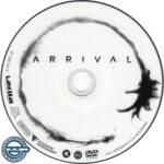 Arrival (2016) R4 DVD Label