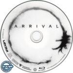 Arrival (2016) R4 Blu-Ray Label