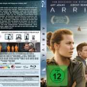 Arrival (2016) R2 German Custom Blu-Ray Covers & Labels