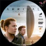 Arrival (2016) R2 German Custom Labels
