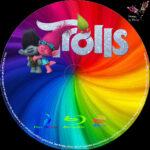 Trolls (2016) R2 German Custom Labels