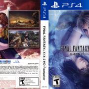 Final Fantasy XX-2 HD Remaster (2015) USA PS4 Cover