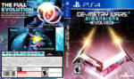 Geometry Wars 3 Dimensions Evolved (2016) USA PS4 Cover