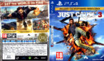 Just Cause 3 (2015) USA PS4 Cover