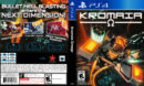 Kromaia Omega (2014) USA PS4 Cover