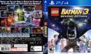 Lego Batman 3 Beyond Gotham (2014) USA PS4 Cover
