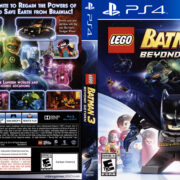 Lego Batman 3 Beyond Gotham (2014) USA PS4 Cover