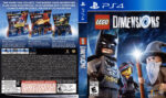 Lego Dimensions (2015) USA PS4 Cover