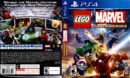 Lego Marvel Super Heroes (2013) USA PS4 Cover