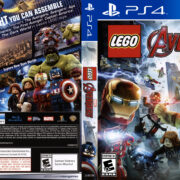 Lego Marvel's Avengers (2016) USA PS4 Cover