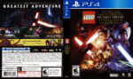 Lego Star Wars The Force Awakens (2016) USA PS4 Cover