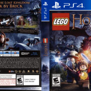 Lego The Hobbit (2014) USA PS4 Cover