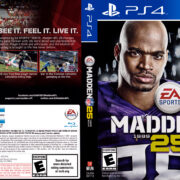 Madden NFL 25 (2013) USA PS4 Cover