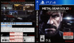 Metal Gear Solid V Ground Zeroes (2014) USA PS4 Cover