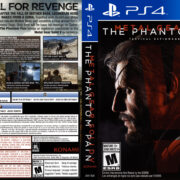 Metal Gear Solid V The Phantom Pain (2015) USA PS4 Cover