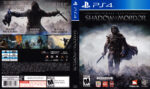 Middle-Earth Shadow of Mordor (2015) USA PS4 Cover