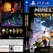 Minecraft Story Mode (2015) USA PS4 Cover