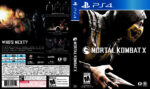 Mortal Kombat X (2015) USA PS4 Cover