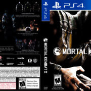Mortal Kombat X (2015) USA PS4 Cover