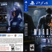 Murdered Soul Suspect (2014) USA PS4 Cover