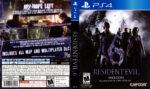 Resident Evil 6 (2016) USA PS4 Cover