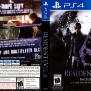 Resident Evil 6 (2016) USA PS4 Cover