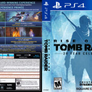 Rise of the Tomb Raider (2016) USA PS4 Cover