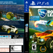 Rocket League (2015) USA PS4 Cover