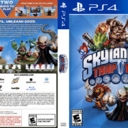 Skylanders Trap Team (2014) USA PS4 Cover