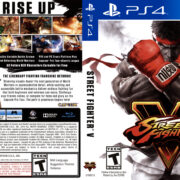 Street Fighter V (2015) USA PS4 Cover